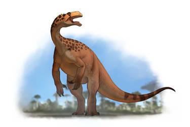 Draw Dinovember 2016 Day 25 Plateosaurus by daitengu