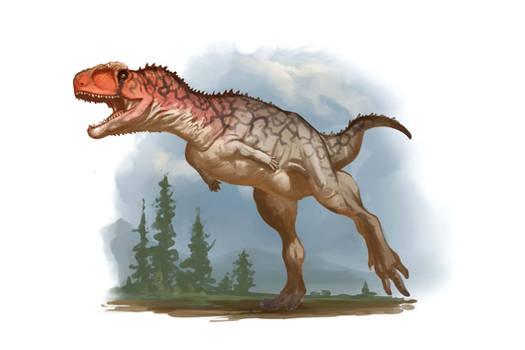 Draw Dinovember 2016 Day 30 Rugops