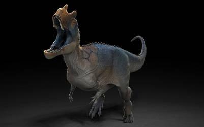 Ceratosaurus by daitengu