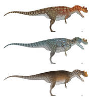 Ceratosaurus Color Concepts