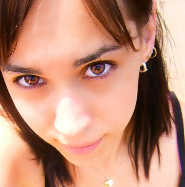 Beautiful big brown eyes girl by sarahlouiseaustralia on for Big beautiful women picture