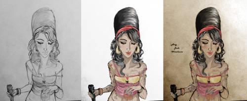 Amy Work in Progress by LordOfWhiteSoul