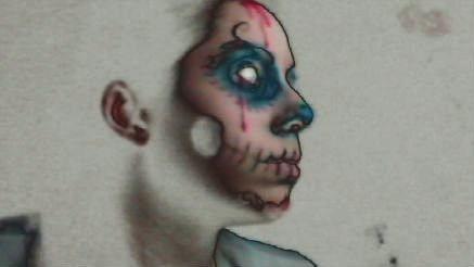 Skull Girl5 by LordOfWhiteSoul