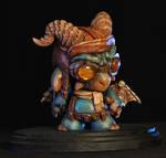 Puff the Steampunk Dragon 1 by Kahiah
