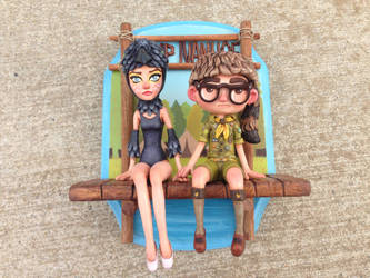Suzy and Sam piece from Moonrise Kingdom by Kahiah