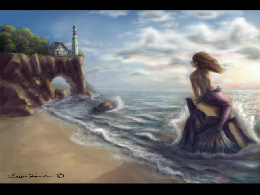 Immagini dalla Nuova Inghilterra! - Pagina 5 Mermaid_waits_by_Kahiah