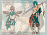 [CLOSED]  Tenshi original species + Exorcist