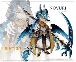 [closed] NOVURI species (knight) by aritsuneart