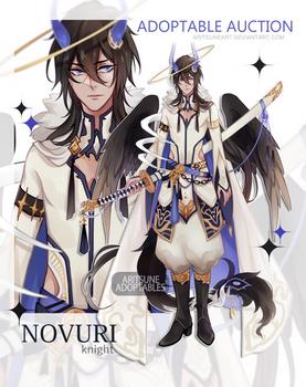 [closed Auction - NOVURI species (knight)