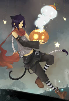 Happy Halloween 2009 by Gasara
