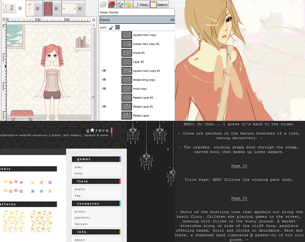 Currently Working On... by Gasara