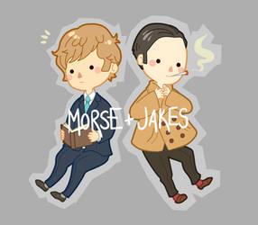 Morse and Jakes by Gasara