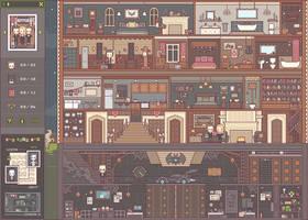 Wayne Manor Pixel Playset (Preview)