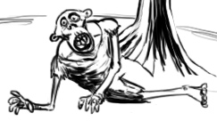 08 20 2012 Daily Draw Zombie Guy by LineDetail