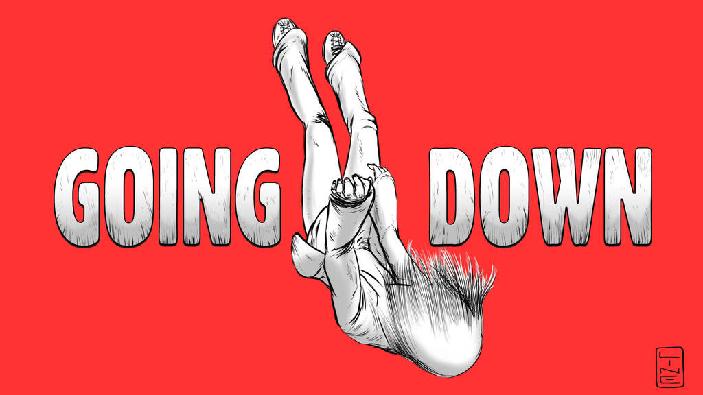 Going Down - A fictional, fictional story by Line by LineDetail