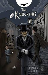 Cover art I did for The Knocking comic