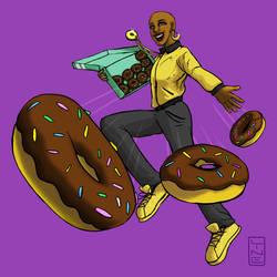 Doughnut Super Hero