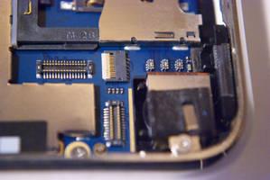 iPhone - Blue Circuit