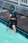 O mergulhador