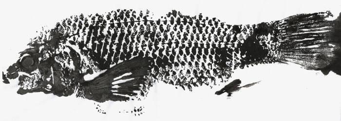 Gyotaku - peixe 2