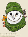 Drawtober Day 29 - Owl
