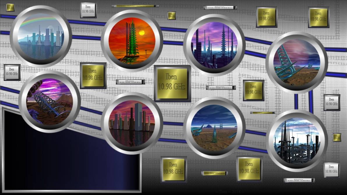 Worlds lock screen