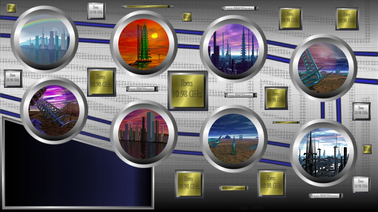 Worlds lock screen by iben1