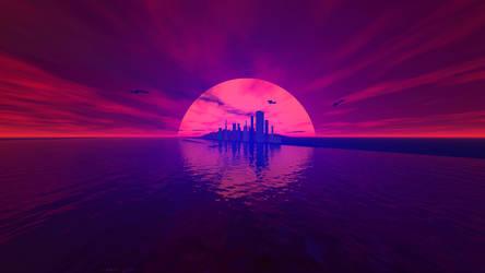 Sun Rise Andromeda