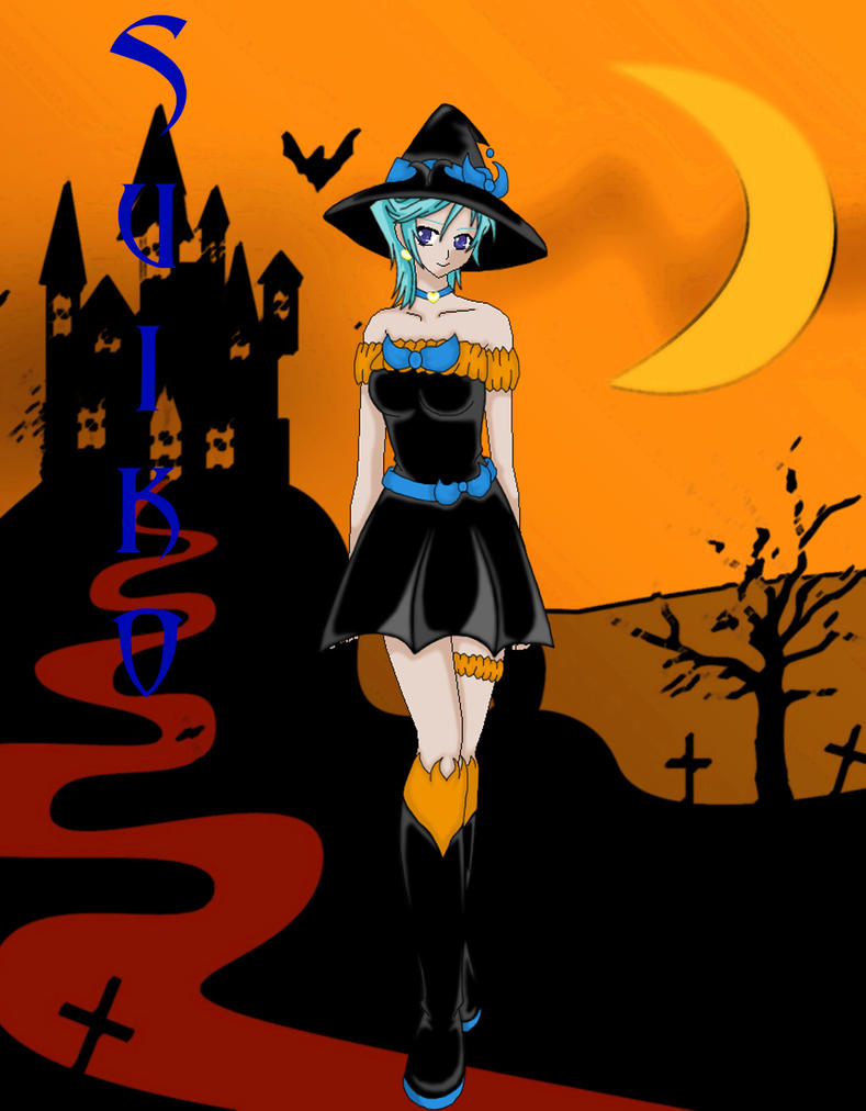 Suiko Witch by Liliyworld