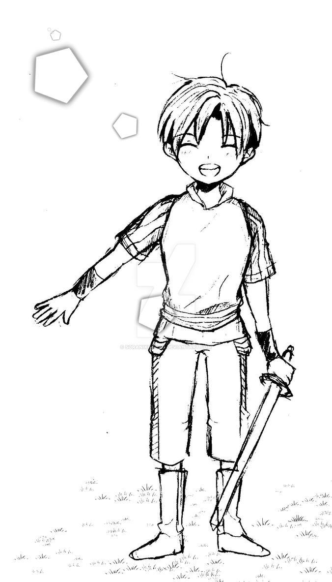 Little Knight by soranikuchan