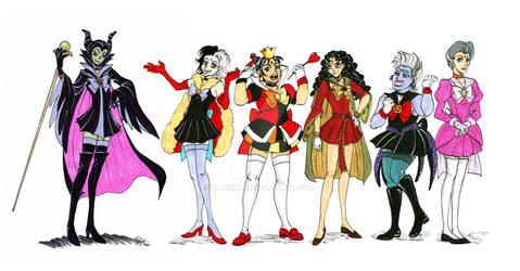 Sailor Disney Villians
