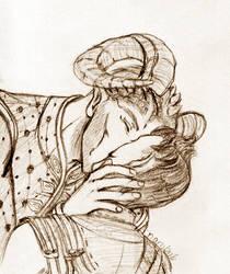 Smooching Dorian by nambnb