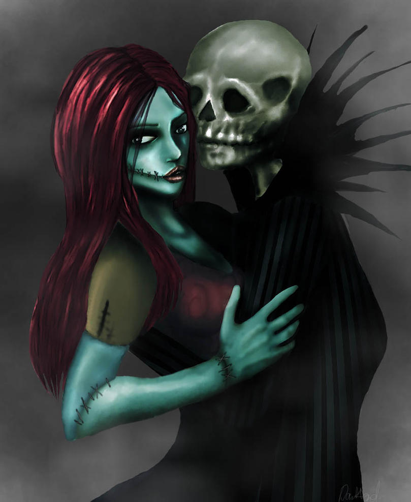 Jack and Sally by darklord88 on DeviantArt