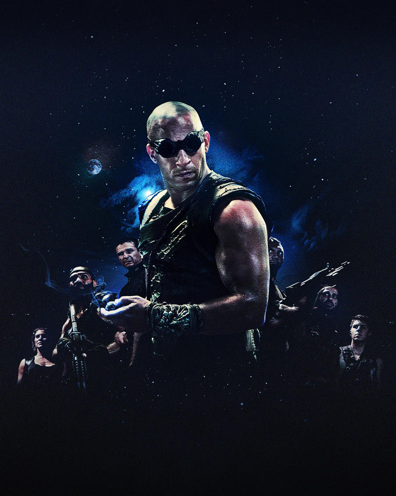 The Riddick Rule The Dark by evolvearte