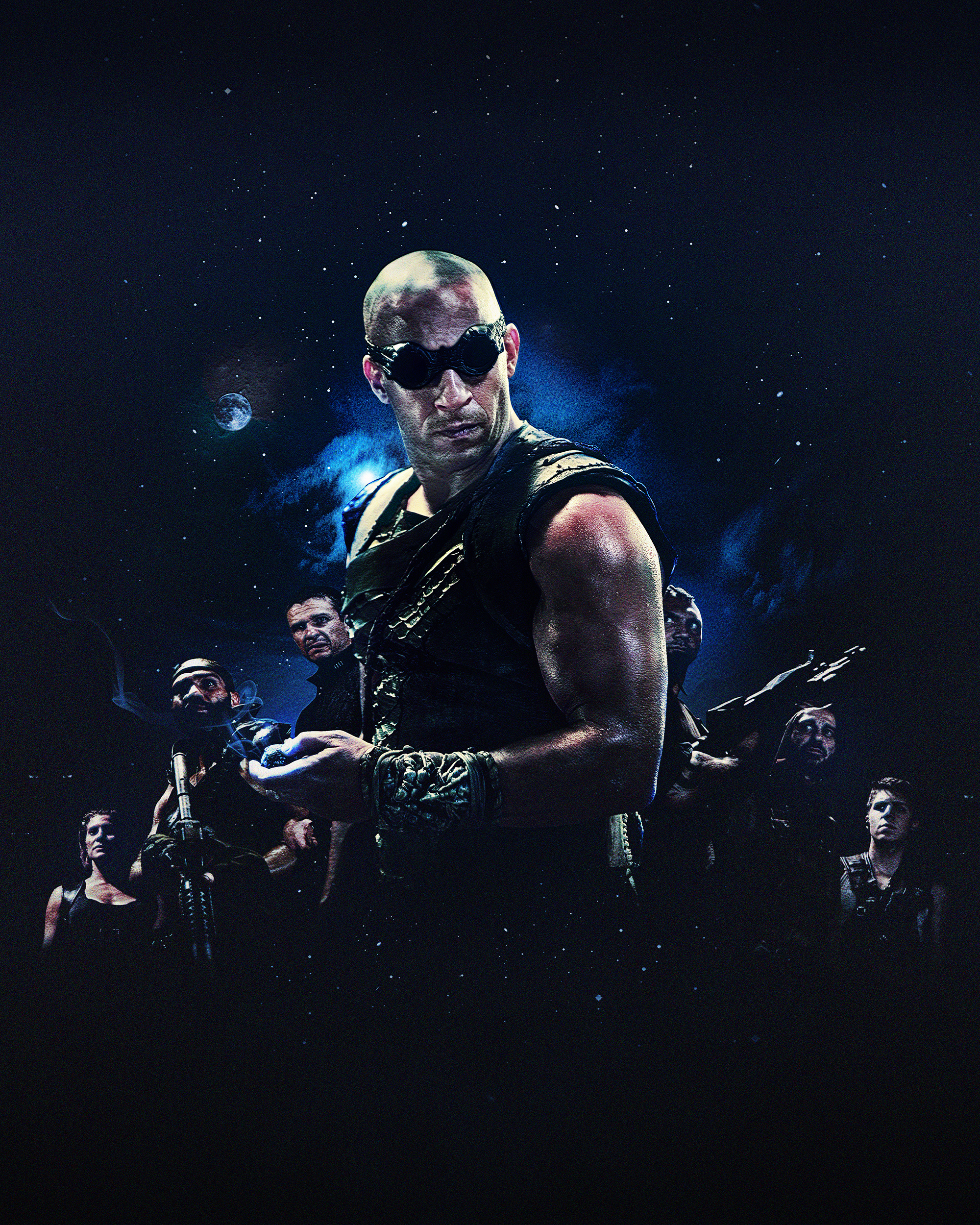 The Riddick Rule The Dark by evolvearte on DeviantArt