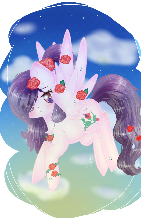 YCH- Rosey Pearl by Shinning-StarYT
