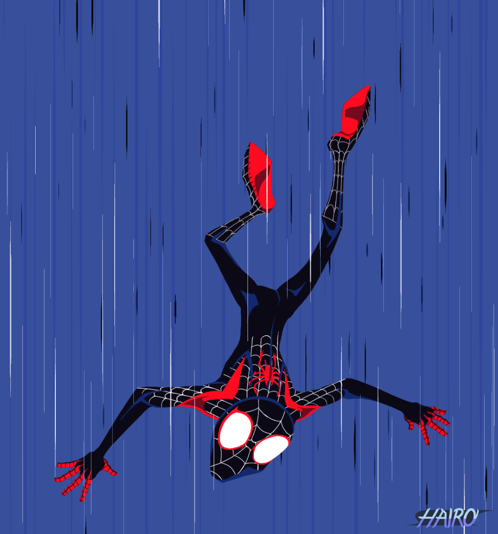 SpiderMan into The SpiderVerse Fanart by HighRiskOculus on DeviantArt