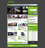 Gaming Webdesign V.3 by DanielMckendry