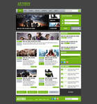 Gaming Webdesign V.3