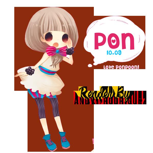 Partage de Renders! Ponpon_girl_render_by_andy__rodriguez-d6ltd61
