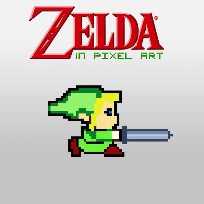 Zelda In Pixel Art By ThePixelArtStudios On DeviantArt