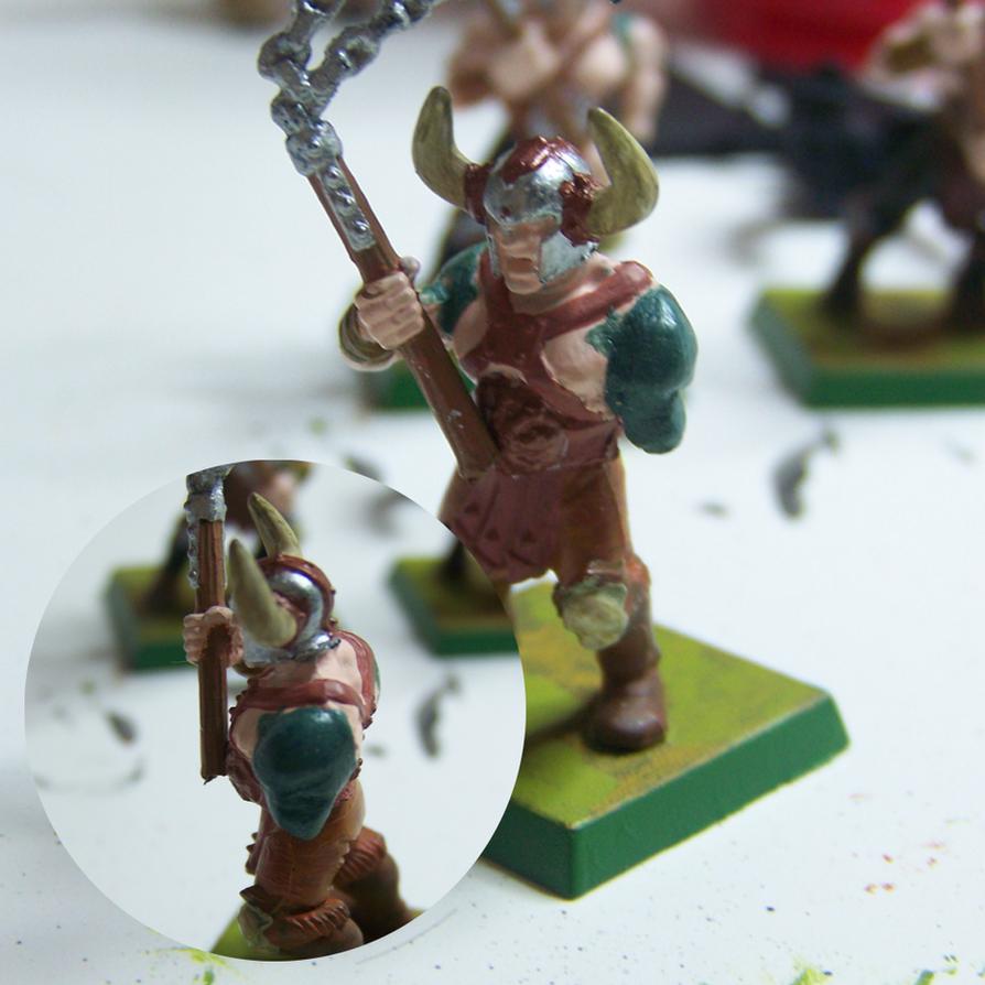 Warhammer Maceman by Kitsufox