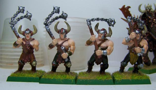 4 Warhammer Mauraders by Kitsufox