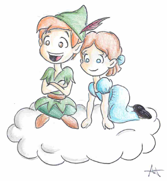 Peter and Wendy by Foreveryoung8