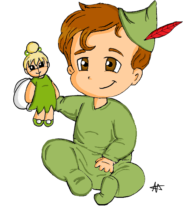 Baby Peter Pan by Foreveryoung8
