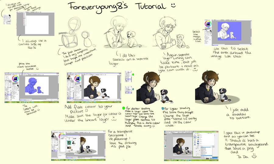Tutorial by Foreveryoung8