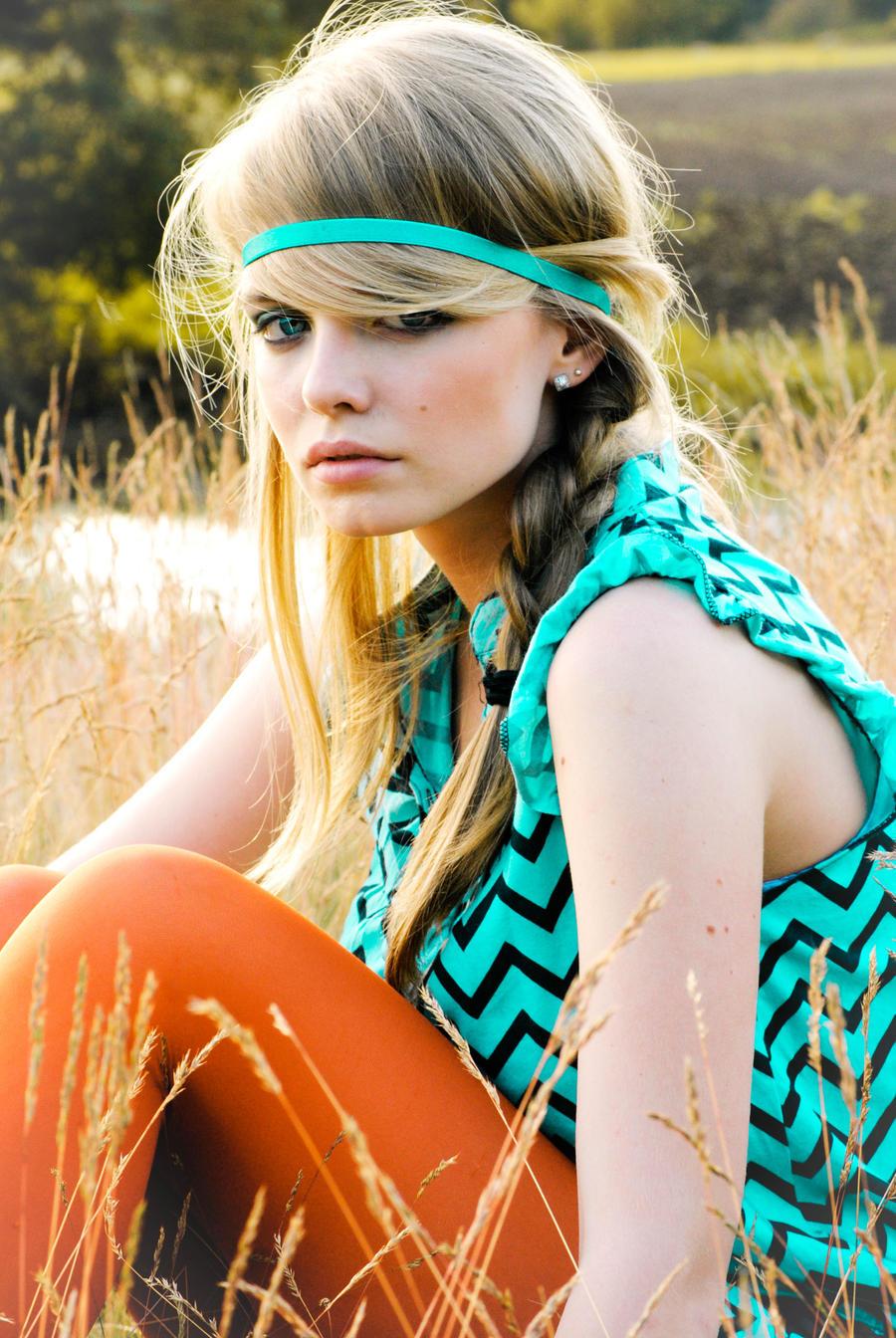 Colourful Hippie Girl by jolantajola1 on DeviantArt