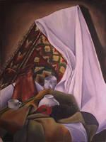 Oil Painting-Still life