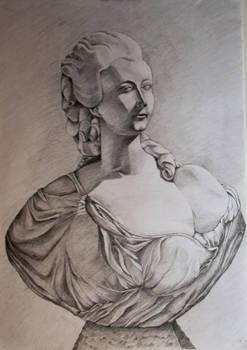 Cast Drawing pencil