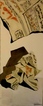 Watercolors - Newspapers